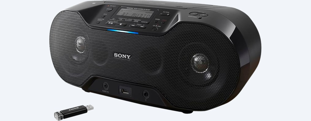 Images of CD Boombox with Bluetooth®
