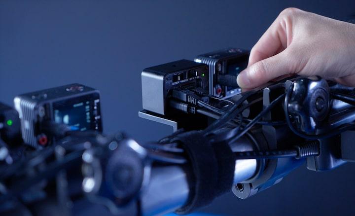 Multi-cam precision via IP connection