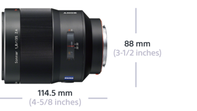 Picture of Sonnar T* 135mm F1.8 ZA