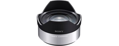 Images of VCL-ECF1 Fisheye Lens Converter