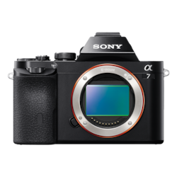 Picture of α7 E-mount Camera with Full Frame Sensor