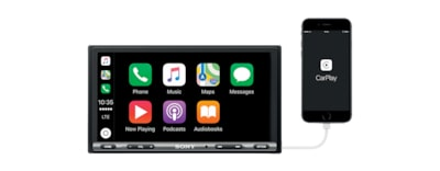 Images of 17.6 cm (6.95 inch) Apple CarPlay / Android Auto™ Media Receiver