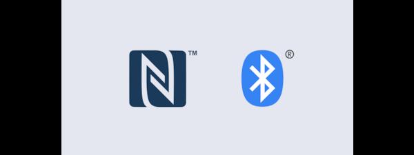 GTK-XB60 NFC and BLUETOOTH® logos