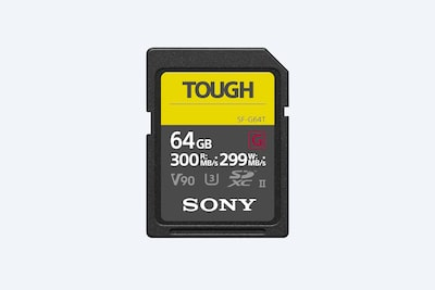 SF-G series TOUGH specification memory card