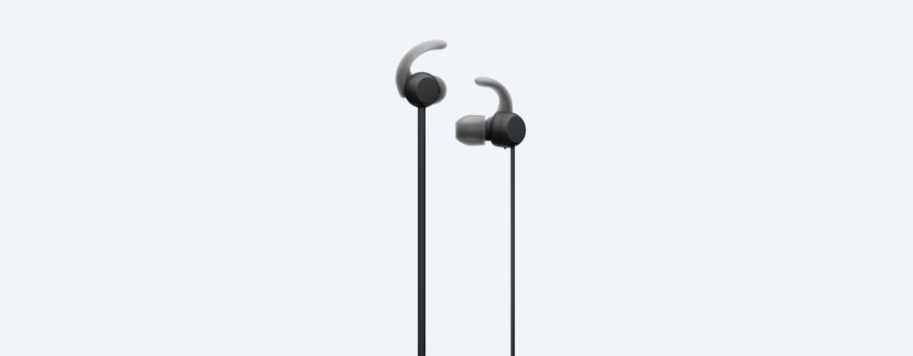 Detail of WI-SP510 earbuds