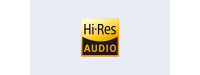 HT-Z9F Hi-Resolution Audio logo