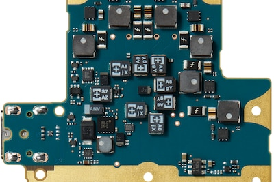 Circuit board with POSCAP for enhanced low-range performance