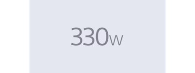 330W total power output