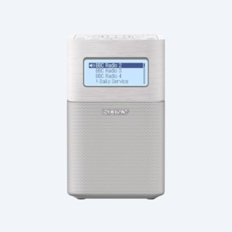 Picture of Portable DAB/DAB+ Clock Radio with Bluetooth