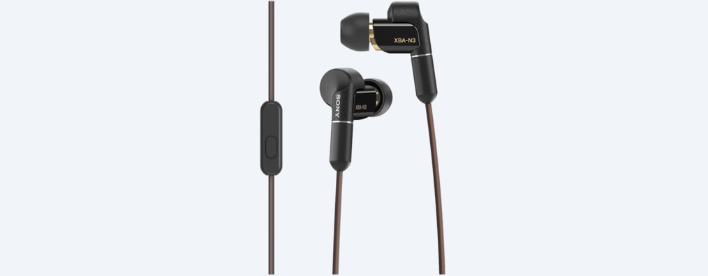 Images of XBA-N3AP / XBA-N3BP In-ear Headphones
