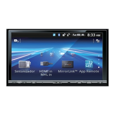 "Picture of 17.65 cm (6.95"") LCD DVD Receiver with MirrorLink"