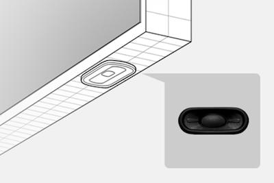 Thin oval speaker