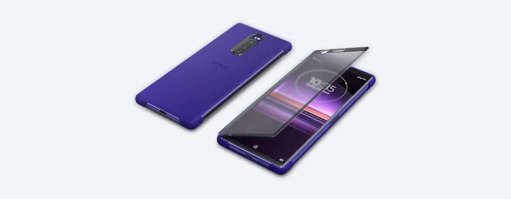 Images of Xperia 1 Style Cover Touch SCTI30 | Your world through the cover