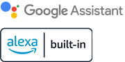 Logos for Google Assistant and Alexa