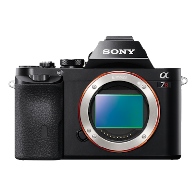 Picture of α7R E-mount Camera with Full Frame Sensor