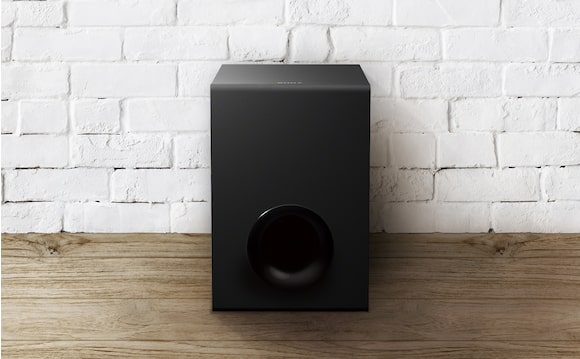 Wired subwoofer