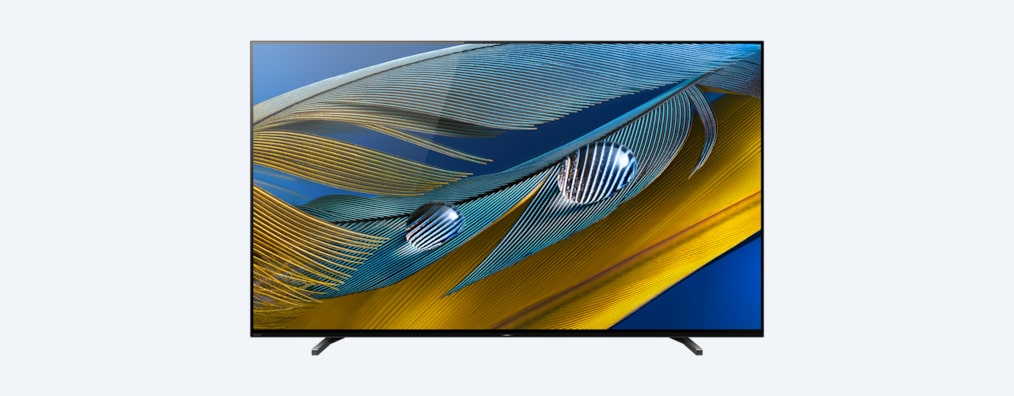 A80J BRAVIA XR TV front shot