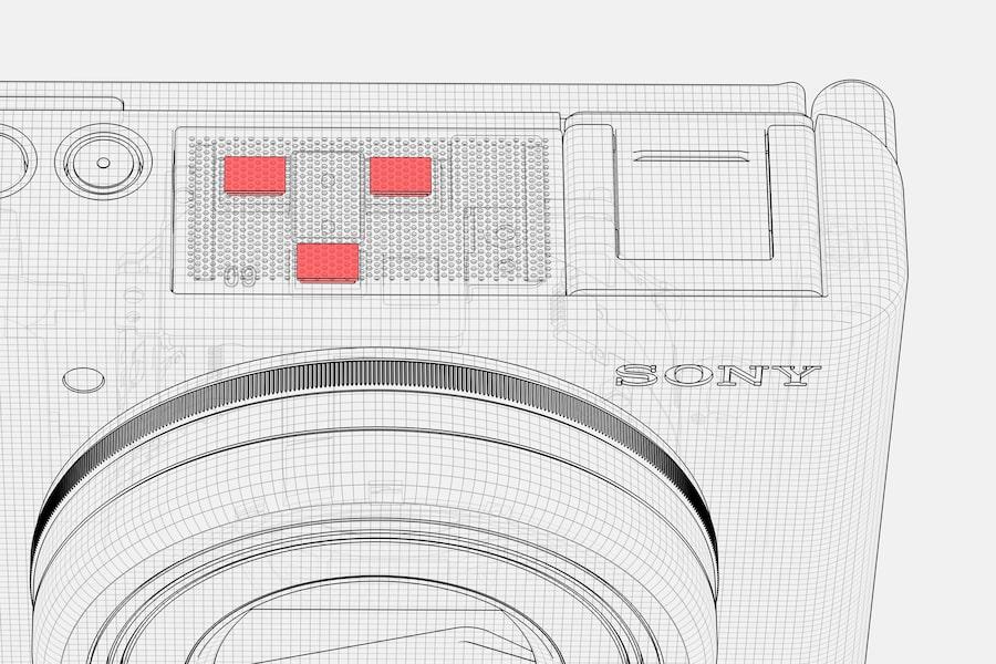 Sony ZV-1 内建麦克风
