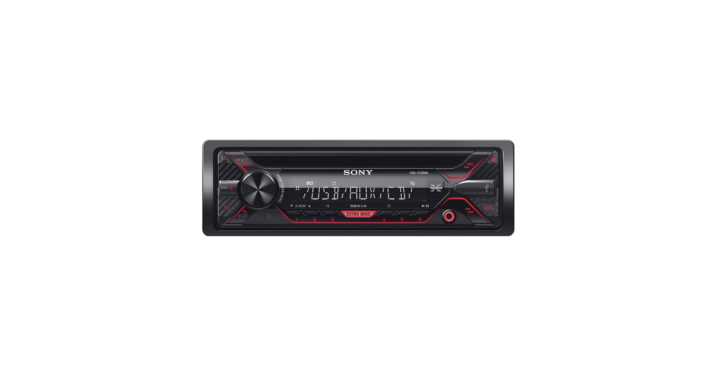 Sony CDX-G1200U CD Receiver